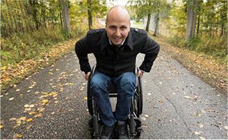 Haltija-lähettiläs Toni Piispanen